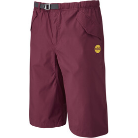 Moon Climbing Cypher Shorts Men burgundy